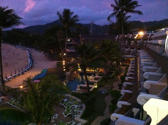 Beyond Resort Karon: Evening view