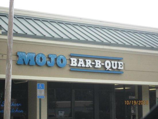 Restaurant front picture of mojo bar b que jacksonville for Mojo restaurant