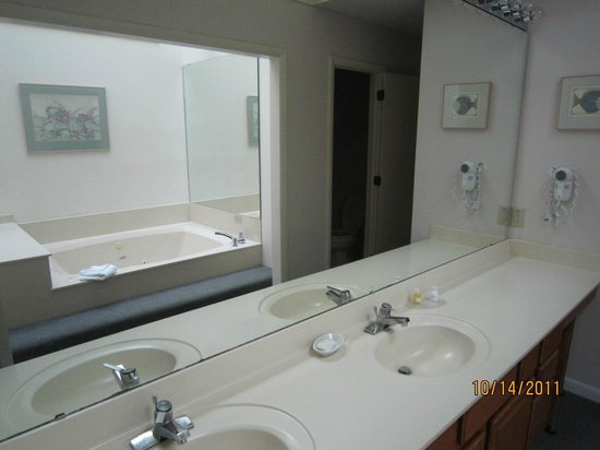 The Resort at Fairfield Harbour: Bathroom