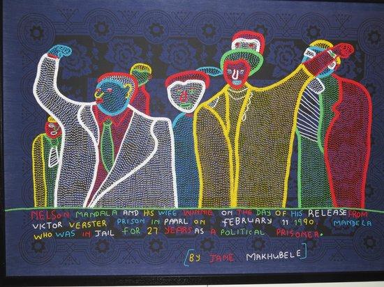 Peacemakers Museum: Artwork inside museum