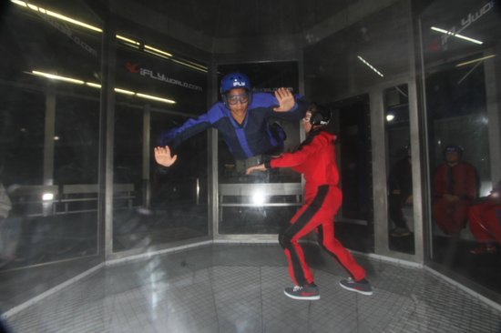 iFLY: First time flyer