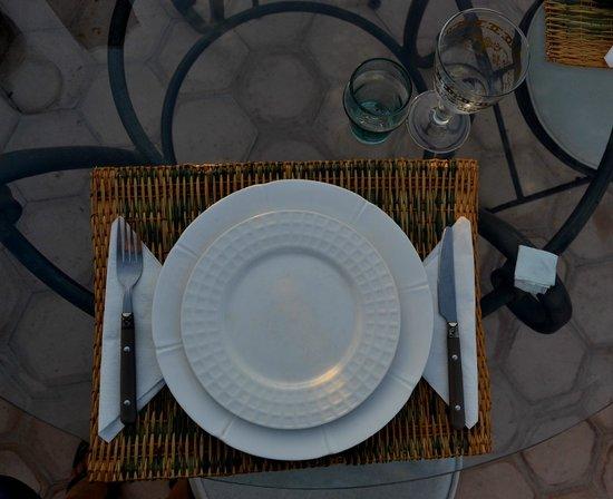 Riad le coq berbere: cena