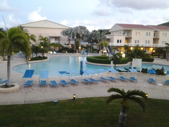 Marriott's St. Kitts Beach Club: pool view from our room