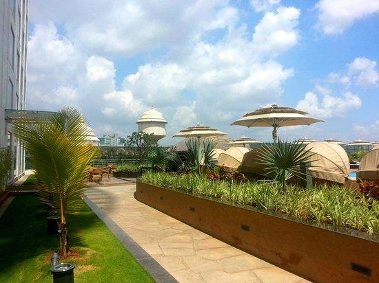 Bengaluru Marriott Hotel Whitefield: Pool Area-3