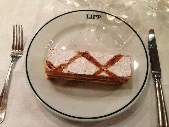 Brasserie Lipp : Тот самый мильфей