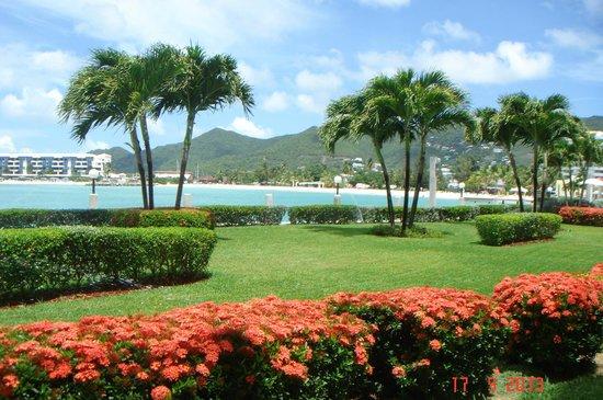 The Villas at Simpson Bay Beach Resort & Marina : Красота перед глазами!