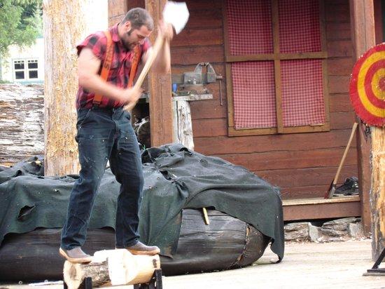 Great Alaskan Lumberjack Show: Lumberjack Show, Ketchikan, Alaska