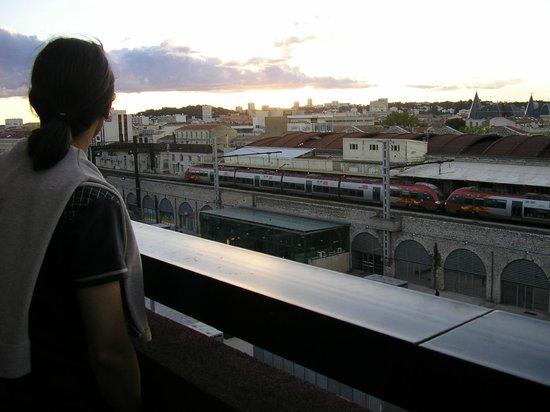 Adagio Access Nimes : vue du balcon