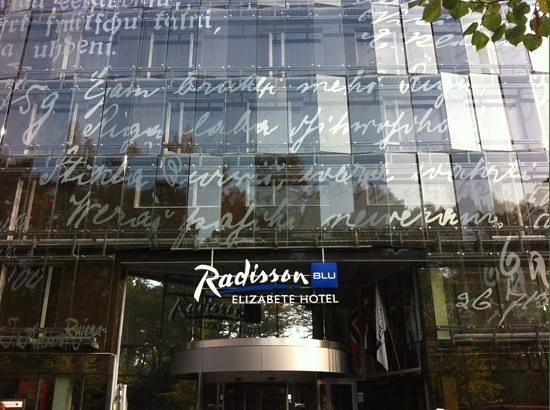 Radisson Blu Elizabete Hotel: ingresso