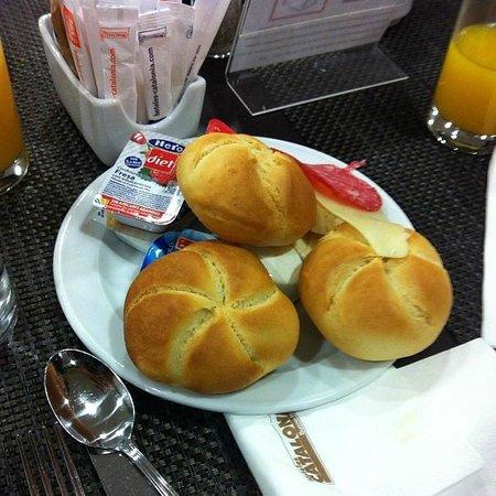 Catalonia Atenas Hotel: Hotel breakfast, courtesy of my blog, www.that-food.blogspot.com
