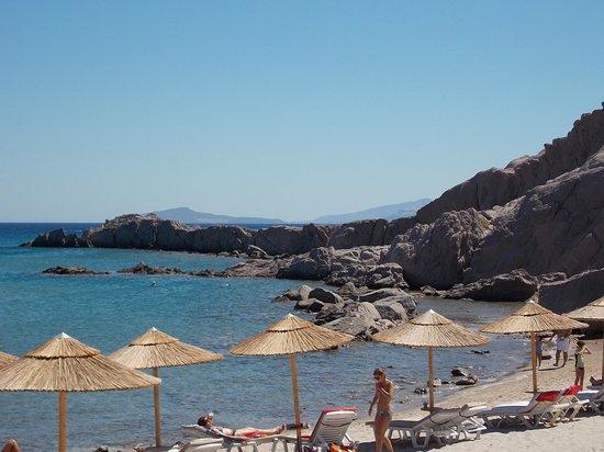 Paradise Beach: vue de la plage