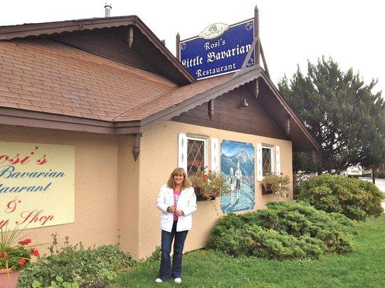 Glenwood Springs Inn : al lado hay un restaurant bavaro exelente