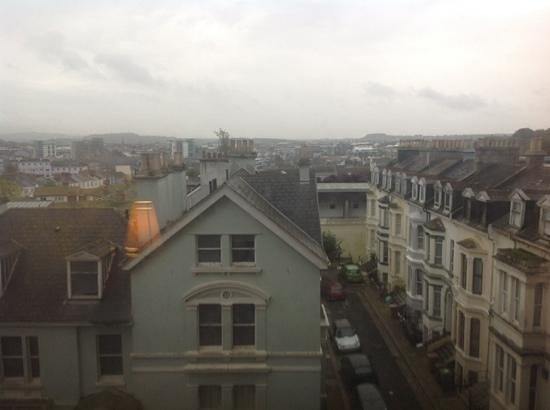 Holiday Inn Plymouth: view outside room