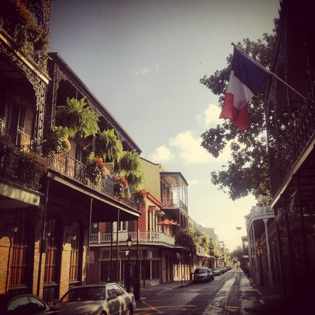 The Saint Philip Hotel: The hotel is right in the middle of the French Quarter