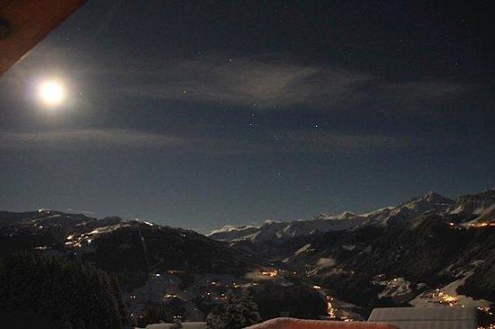 Breierhof: Ausblick bei Nacht