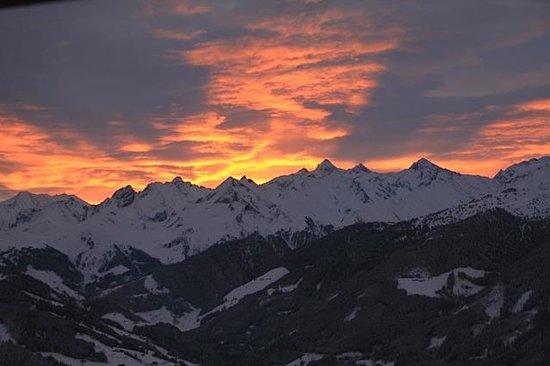 Breierhof: Zillertaler Berge am Morgen
