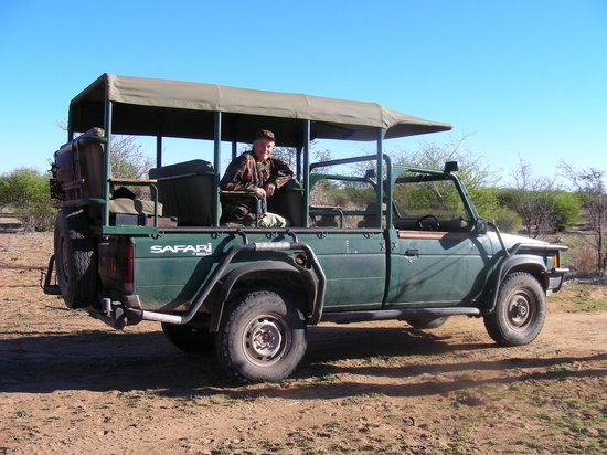 Okambara Elephant Lodge: Game -Drive