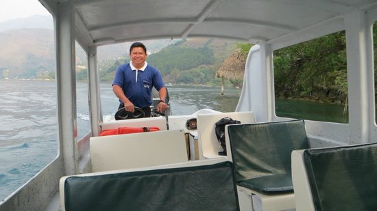 Laguna Lodge Eco-Resort & Nature Reserve: Transport to and from the Lodge from Panahachel