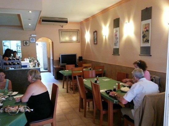 Hong Kong Aberdeen : Inside Restaurant