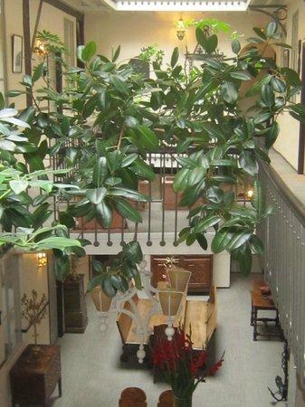 Grand Hôtel d'Orléans : coursives intérieures