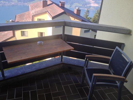 Dorint Bluemlisalp Beatenberg/Interlaken : The balcony