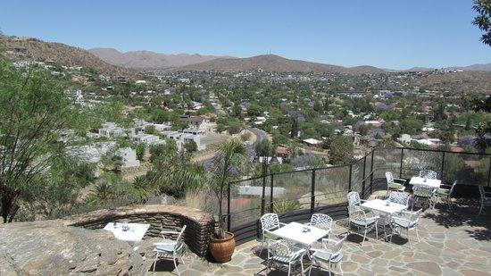 Hotel Thule : Aussicht auf Windhoek