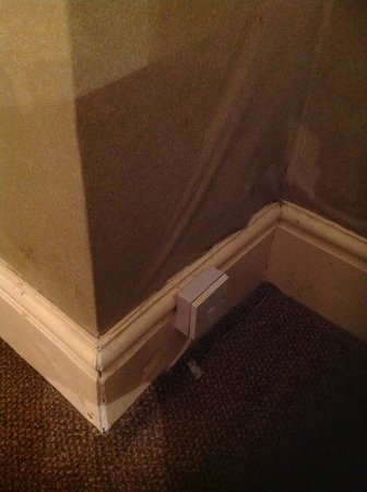 Rossmore Hotel: Tapisserie trempée