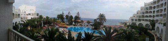 Delphin Ribat: Vue panoramique depuis la chambre