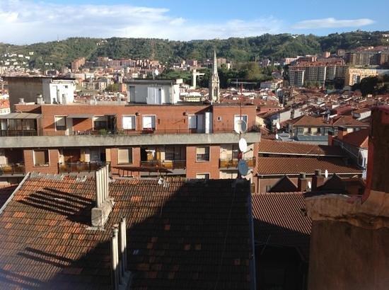 Hotel Bilbi : Vistas desde la habitación