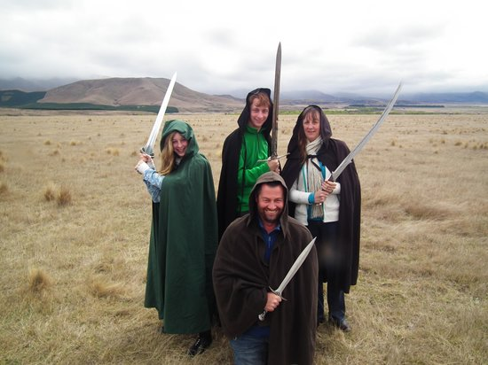 Lord of the Rings Twizel Tour: Lords of the Swords