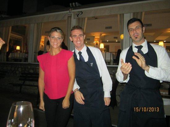 Hotel Capri: Happy birthday from staff at Edode