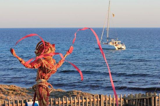 Blue Bar Formentera: Blue Bar show
