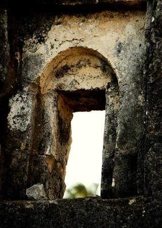 Mwangaza Hideaway: The ruins