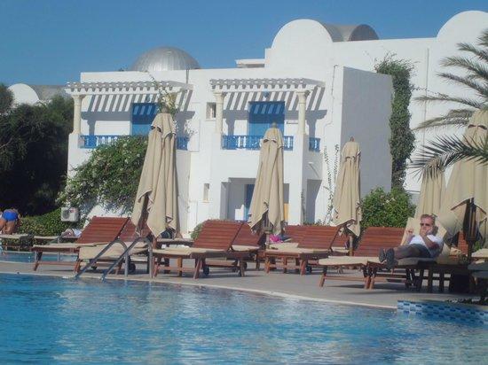 Club Eldorador Salammbo : vue de la piscine