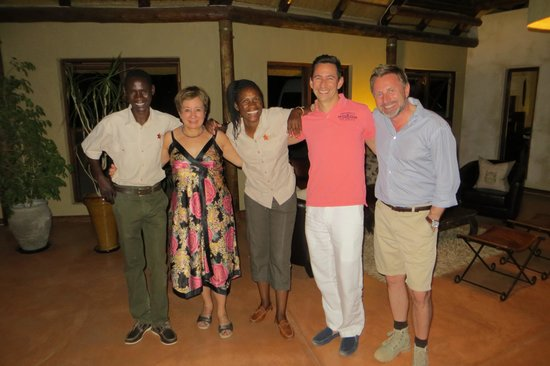 Hoodia Desert Lodge: Fantastic staff