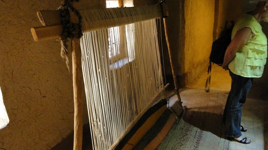 The Oasis Museum: Tissage