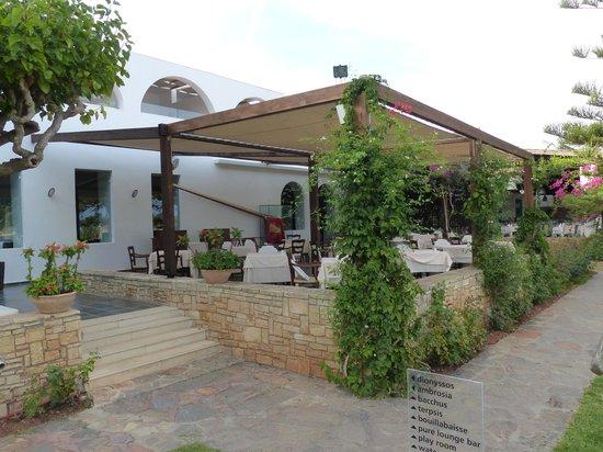 "Minos Beach Art hotel: ""Special"" Ambrosia restaurant"