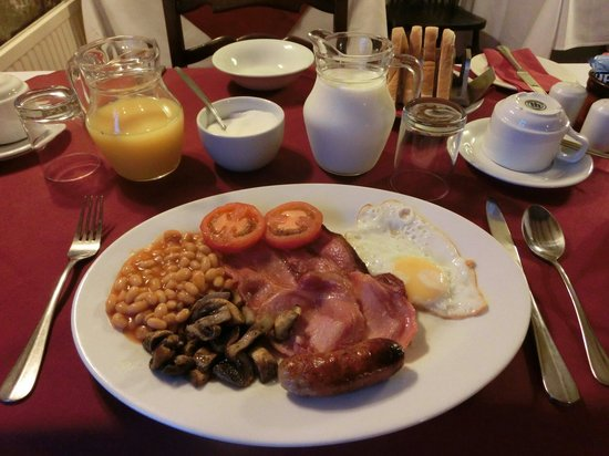 Lantern Pike Inn: Full English breakfast