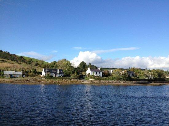 The Cove Lodge B&B : Promenade en bateau avec le Waterbus dans la baie de Donegal