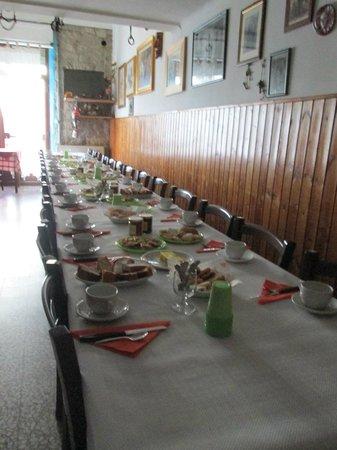 """Agriturismo Antichi Sapori """"da Speranza"""" : colazione"""