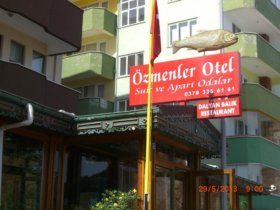 Cakrazseyhler, تركيا: Hotel Enterance