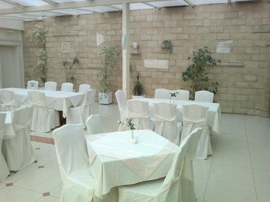 Athens Atrium Hotel & Suites : dining room