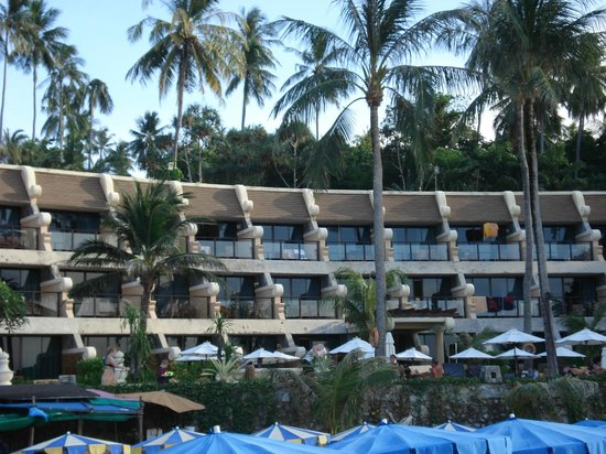 Beyond Resort Karon: Hotel from beach