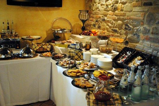 Ca' Virginia Country House Wellness: Das Frühstücksbuffet