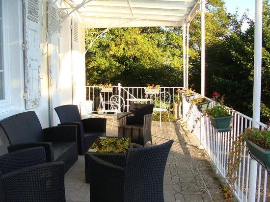 Montchateau: la terraza