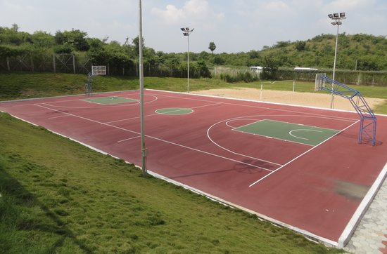 Basketball Court Picture Of Novotel Hyderabad Airport