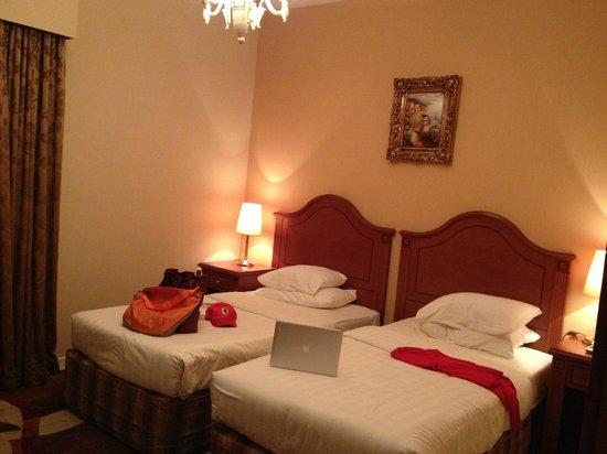 Emirates Concorde Hotel & Residence : My room