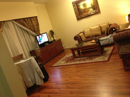 Emirates Concorde Hotel & Residence : Our apartment