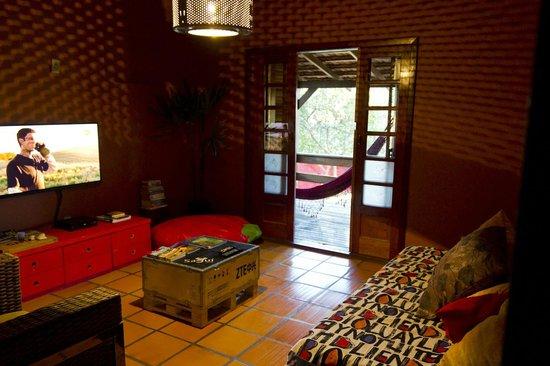 Sagui Hostel: Sala de TV