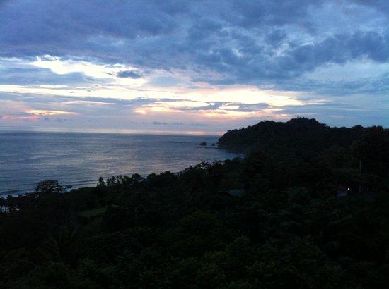 Hotel Costa Verde: Al atardecer